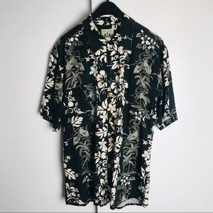 Reyn Spooner Aloha Hawaiian Button Down Shirt Lrg